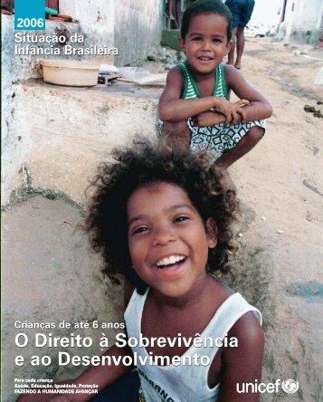 Situação da Infância Brasileira 2006 - CPEP-Fisio
