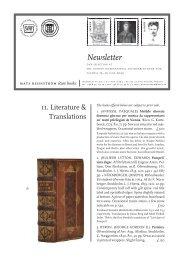 Newsletter - International League of Antiquarian Booksellers
