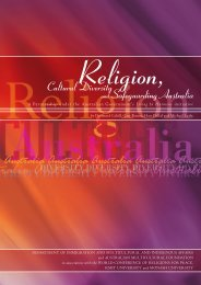 Religion, Cultural Diversity and Safeguarding Australia - Australian ...
