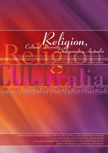 religious diversity in australia essay Schools and teacher education institutions reflect the growing linguistic and religious diversity of addressing the challenges of cultural australia, (2009.