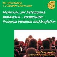 kooperative Prozesse initiieren und begleiten - C & P Verlag