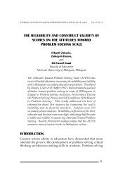 the reliability and construct validity of scores on the attitudes toward ...