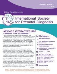 International Society for Prenatal Diagnosis - Ilfeto.it