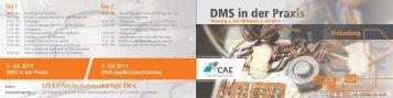 DMS Seminar in Stuttgart - CAE Engineering und Service GmbH