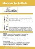 Drahtseile / Anschlagseile - Seil-Baur GmbH - Seite 6