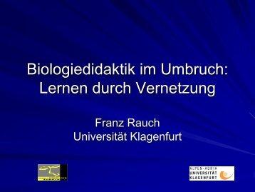 Vernetztes Lernen - AECC-Bio