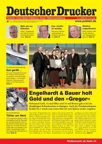 DD 2008 04: SCHWERPUNKT: UNGEWÖHNLICHE - Briem Druck