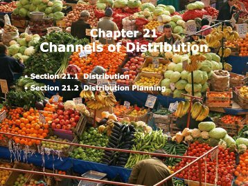 Channels of Distribution Channels of Distribution - iMAG