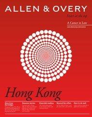 Hong Kong - Allen & Overy