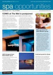 COMO at The Met is postponed - Leisure Opportunities