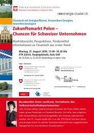 Zukunftsmarkt Polen – Chancen für Schweizer Unternehmen