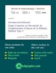 Grupo Consenso en Prevención de Complicaciones Crónicas de la ...
