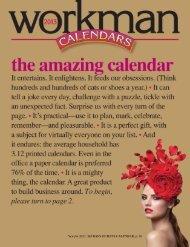 2013 Calendar - Workman Publishing