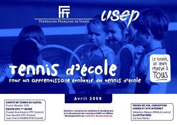 Tennis d'école
