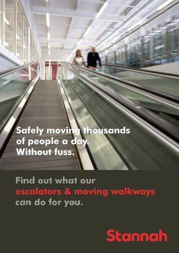 Escalators & Moving Walkways Brochure2.88MB - Stannah