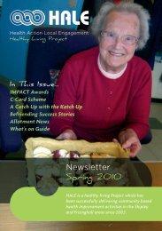 Newsletter Spring 2010 - HALE