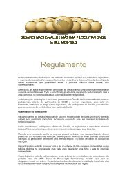 Regulamento Regulamento - Desafio da Soja