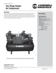 Two Stage Duplex Air Compressor - Air Compressors Direct