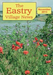 EVNNov2013 - Eastry Parish Council
