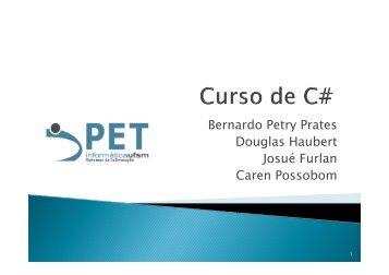 Slides Aula 5 - PET Sistemas de Informação