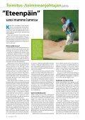 Tietoväylä 1 / 2011 - Golfpisteen etusivulle - Page 4