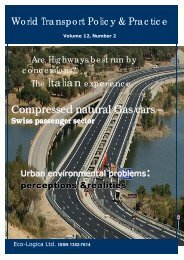 Urban environmental problems - The Commons