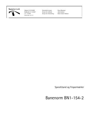 Banenorm BN1-154-2 - Banedanmark