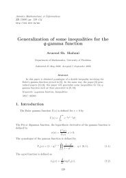 Generalization of some inequalities for the q-gamma function