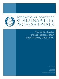 here - International Society of Sustainability Professionals