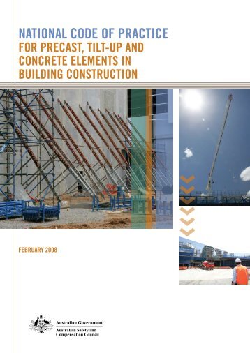 National Code of Practice for Precast Tilt-Up and Concrete Elements ...