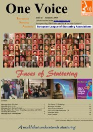 Downloadable - International Stuttering Association