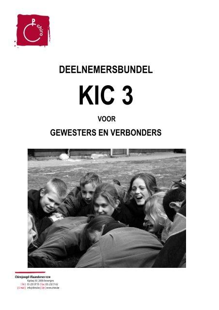 deelnemersbundel KIC 3 voor gewesten en verbonden 09-10 - Chiro