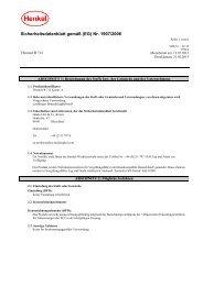 Sicherheitsdatenblatt R 712 - allfloors
