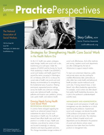 PracticePerspectives - National Association of Social Workers