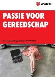 passie voor gereedschap - Würth Nederland