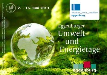 Umwelt- und Energietage