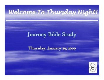 Journey Bible Study