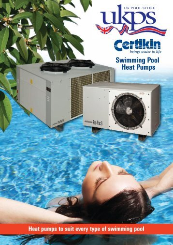 Download Product Specification PDF - All Swim Ltd