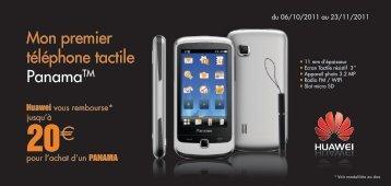 Mon premier téléphone tactile PanamaTM - Orange mobile