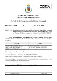 Scarica la Delibera di Giunta Comunale n. 30/2013 - Comune di ...