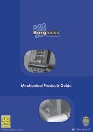 Borg Locks - market leader in innovative design and ... - F R Scott Ltd