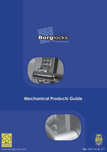 Borg Locks - market leader in innovative design and ... - F R Scott Ltd