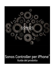 Sonos Controller per iPhone - Almando