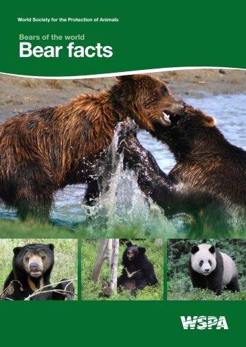 Bear facts - WSPA