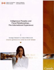 The International Experience - Christian Aboriginal Infrastructure ...