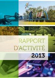 Rapport d'activité 2012 - Axema