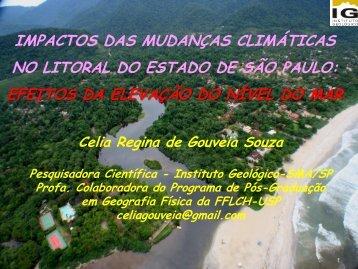 Impactos das Mudanças Climáticas no Litoral do Estado ... - Sabesp