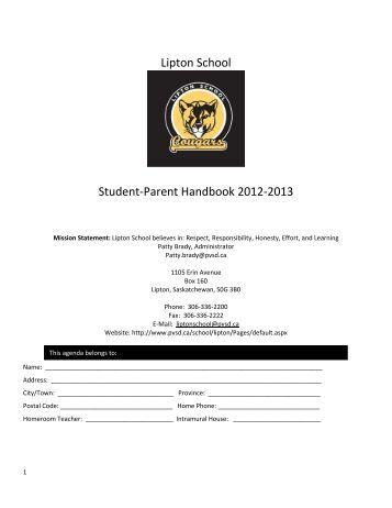 Handbook web edition 2012-13 - Prairie Valley School Division