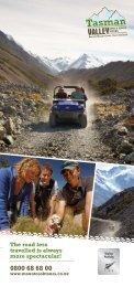 Tasman Valley 4WD/Argo Rack Card 2012/2013 ... - Hermitage Hotel