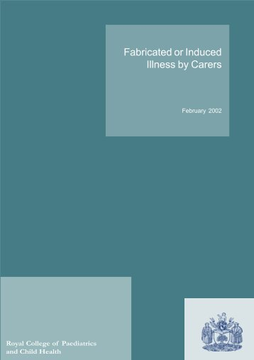 Fabricated or Induced Illness by Carers